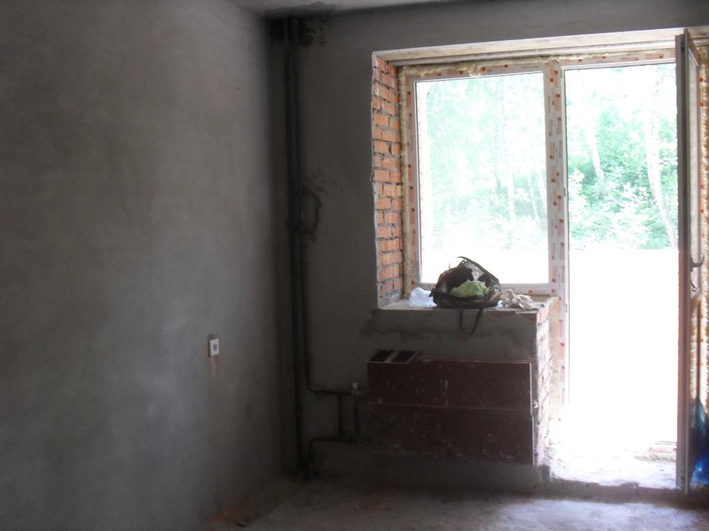 фото комнаты в черновой квартире