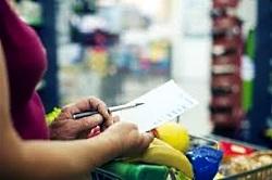 Список покупок помогает экономить