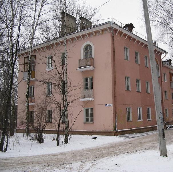 сталинка в 3 этажа